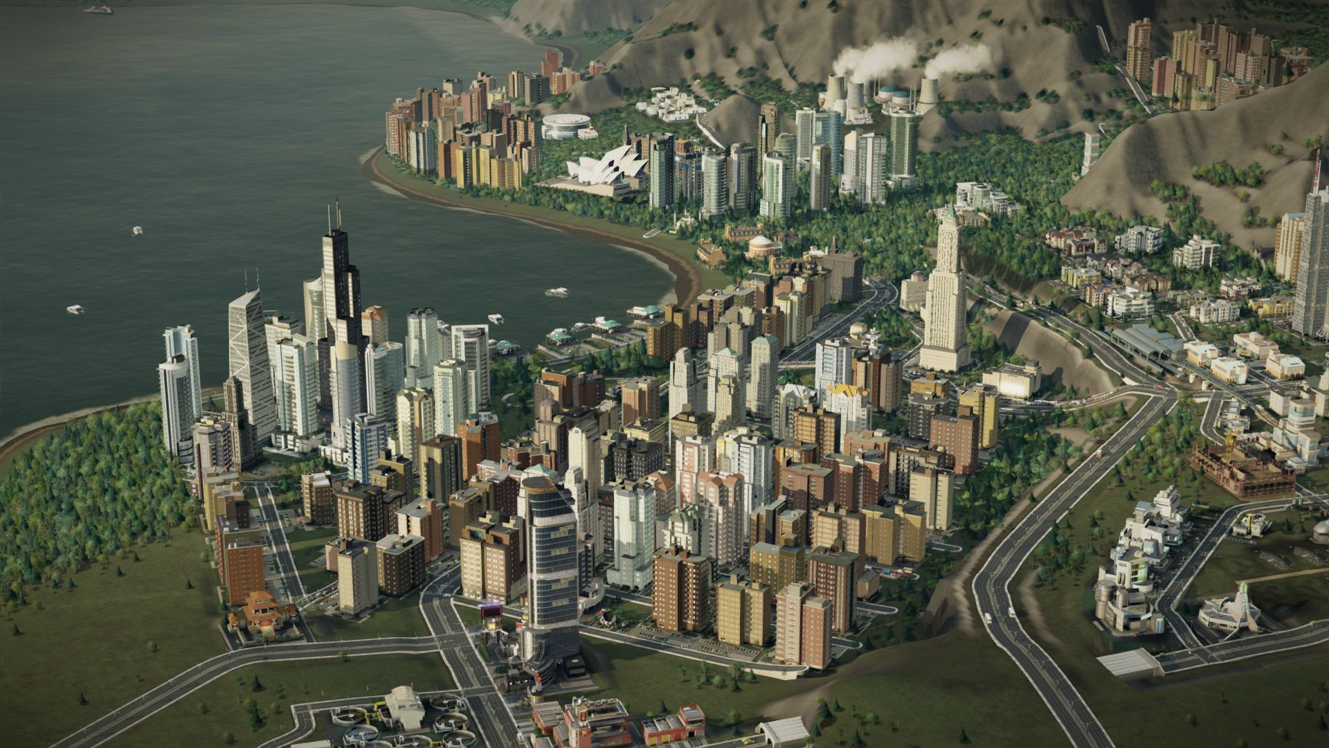 Simcity  Buildings Not Showing