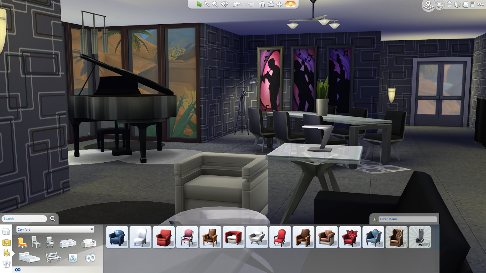 how to start a kitchen fire sims 4