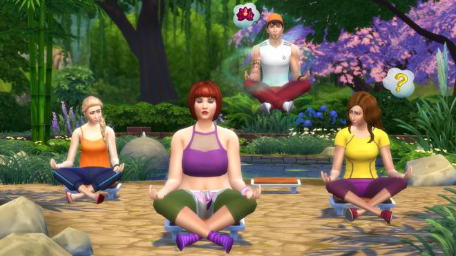 The Sims 4 Dzień w Spa