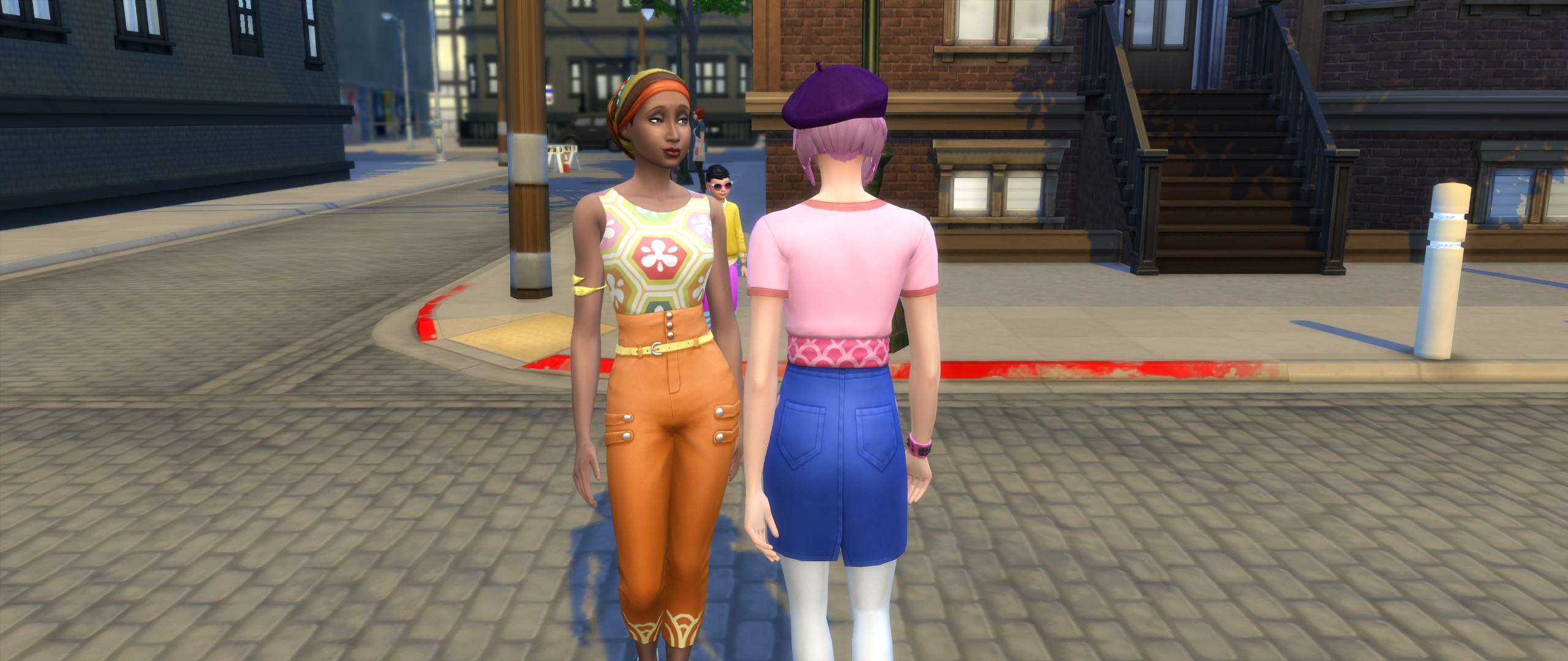 Przegląd The Sims 4 Miejskie życie Cas Dotsim
