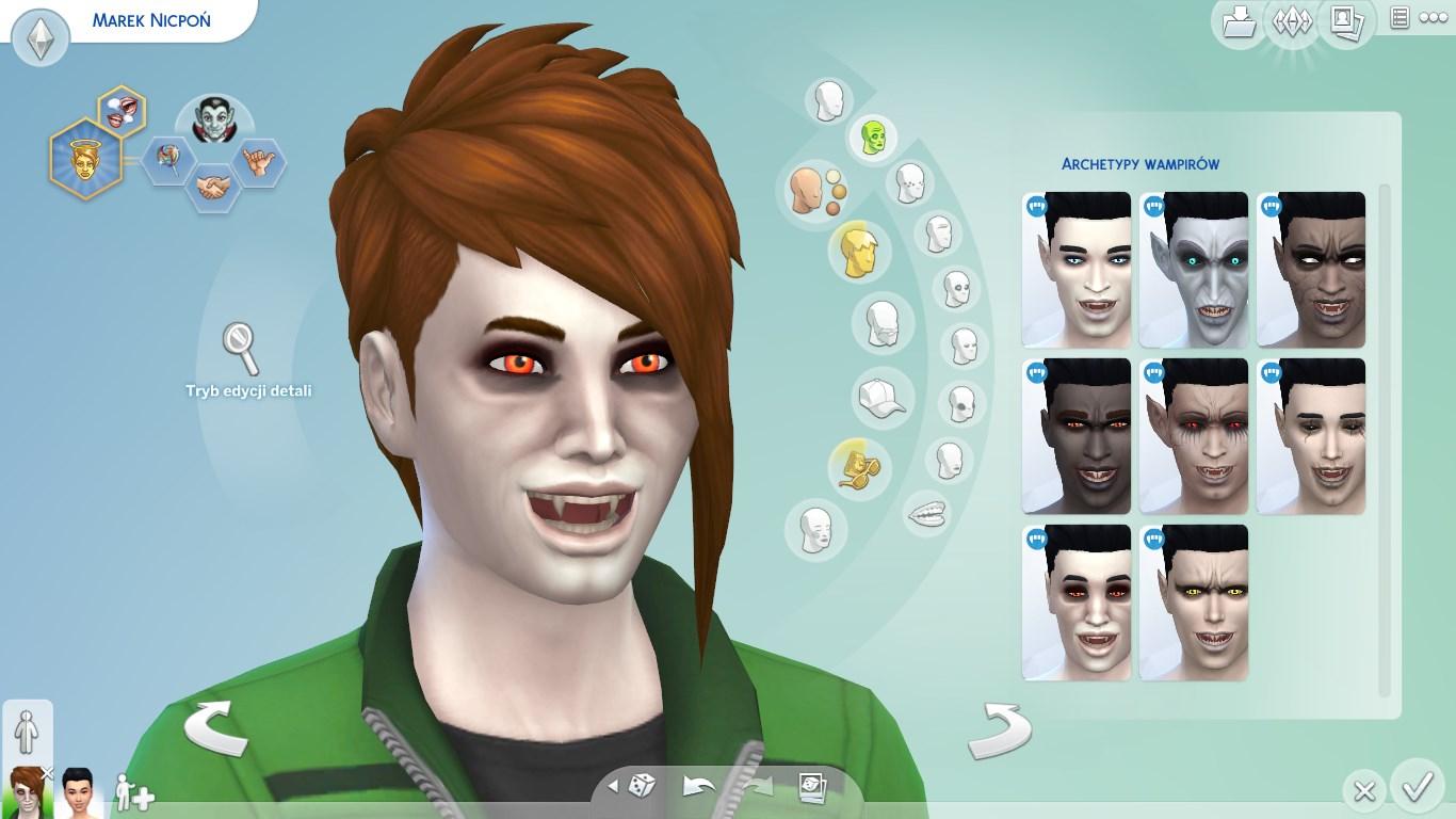 The Sims 4 Wampiry