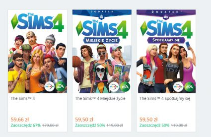 TheSims4PromocjaOrigin