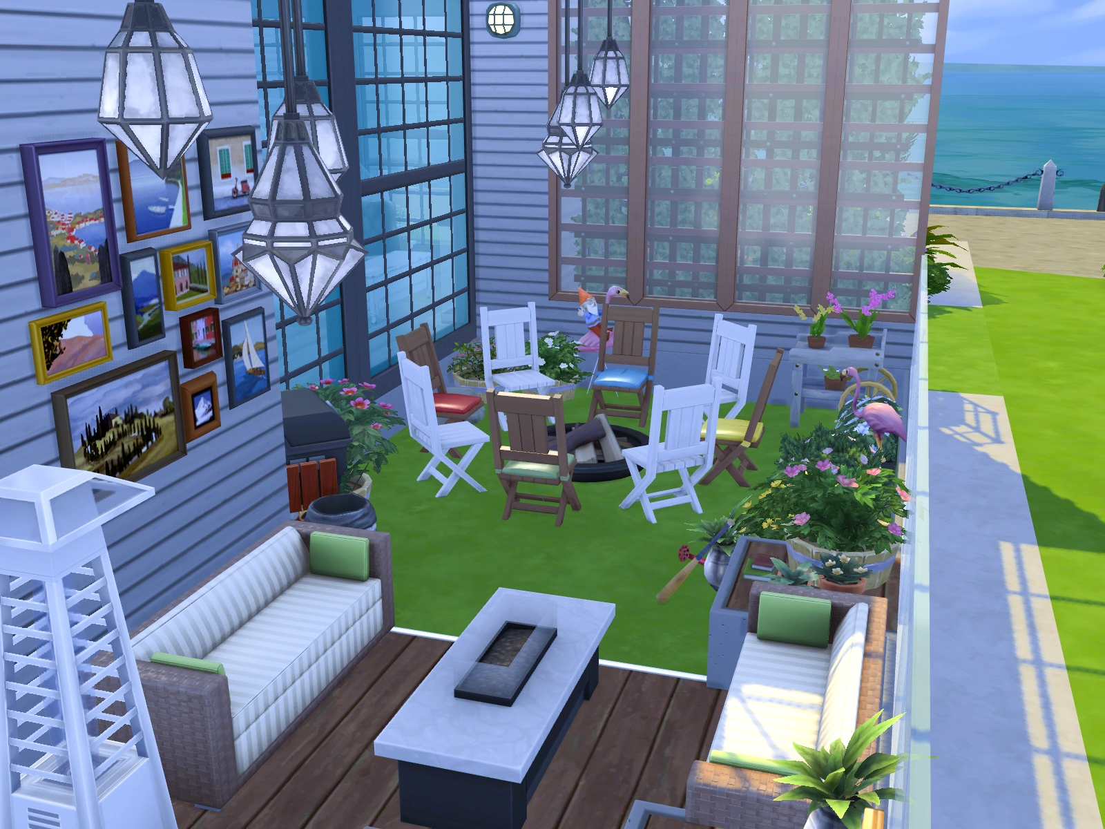 Patio The Sims 4