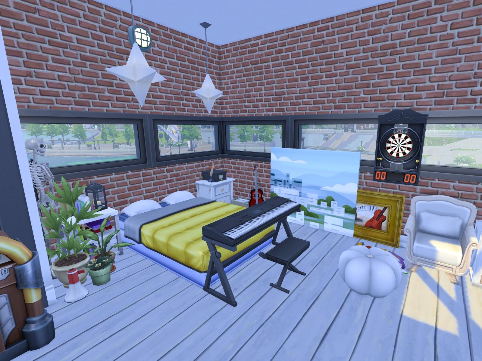 Sypialnia The Sims 4