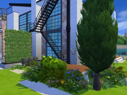 Ogród The Sims 4