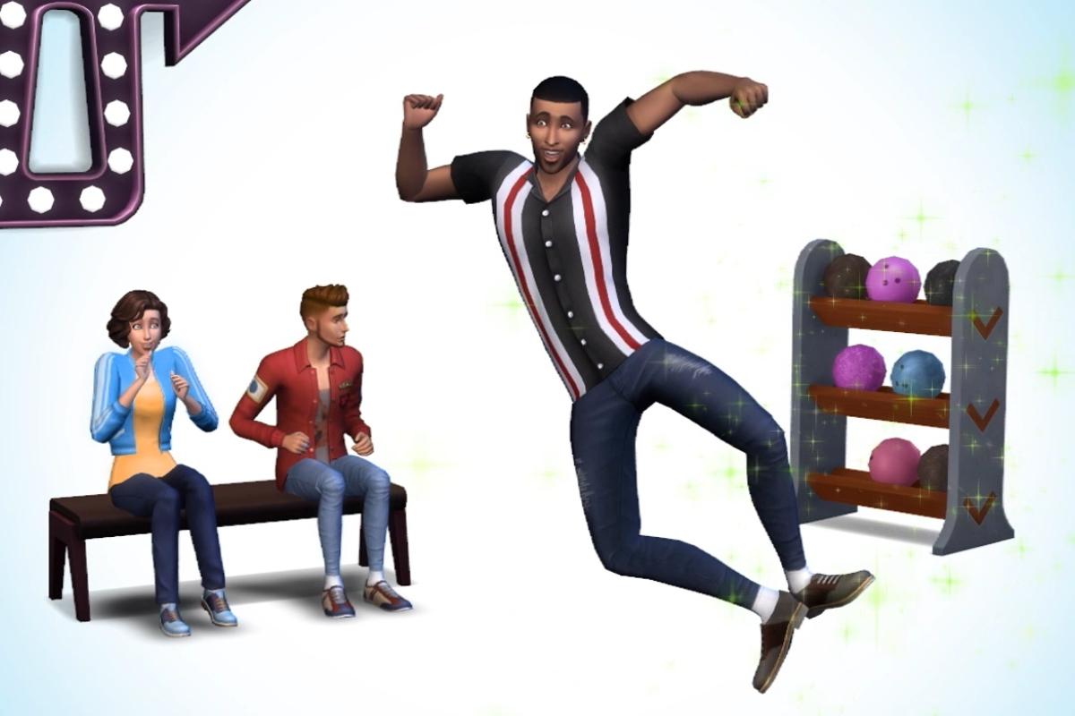 The Sims 4 Noc kręgli Bowling night