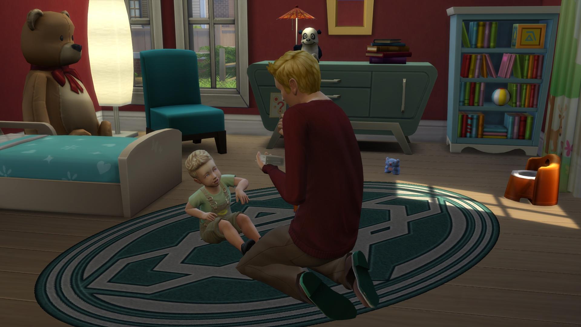 Małe dziecko w The Sims 4