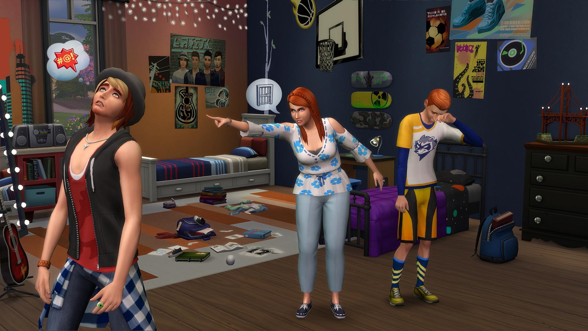 Rodzina Być Rodziną w The Sims 4