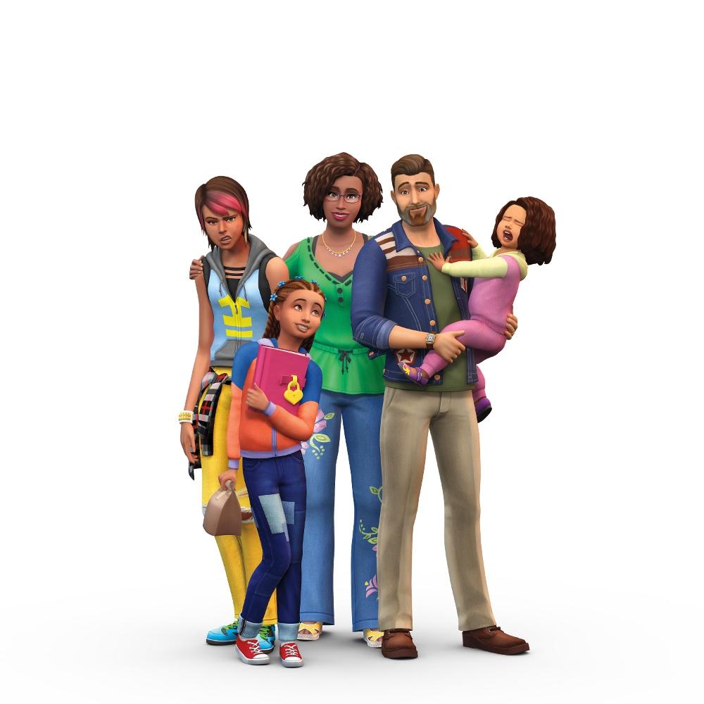 Być Rodzicem Sims 4 Logo Okładka