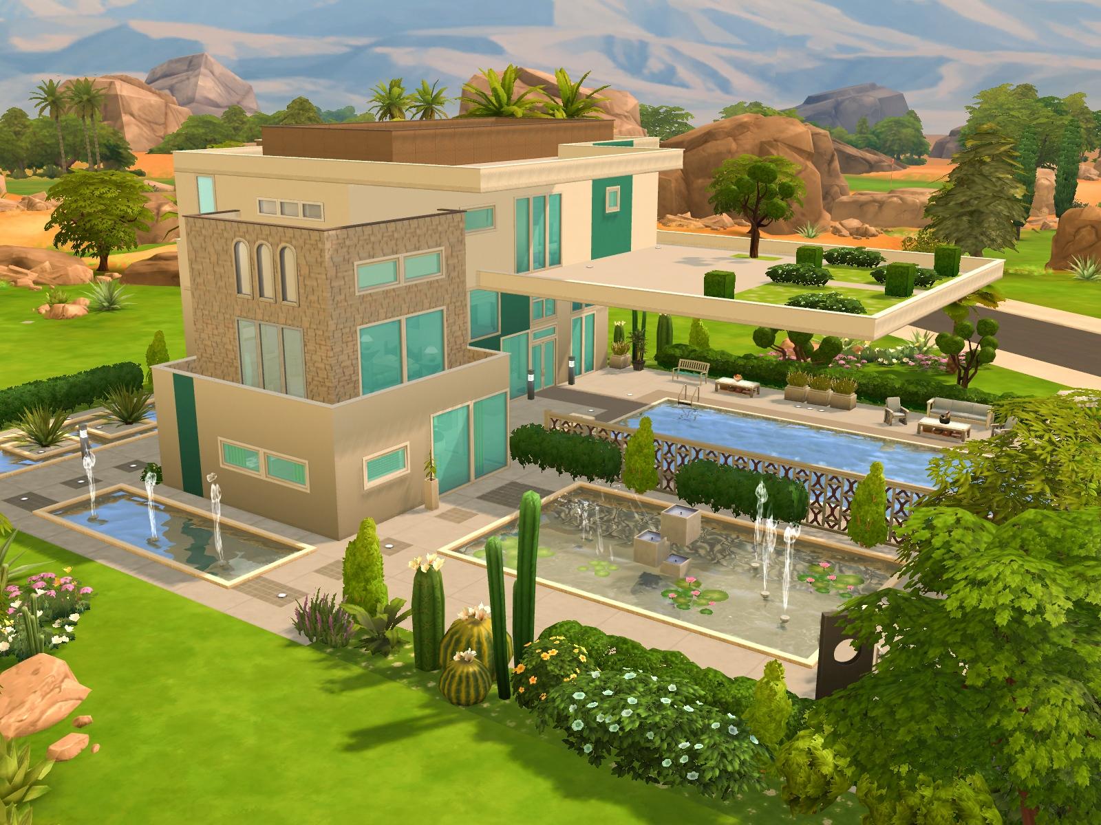 Przegląd Galerii - Wakacyjne domy w The Sims 4 - DOTsim