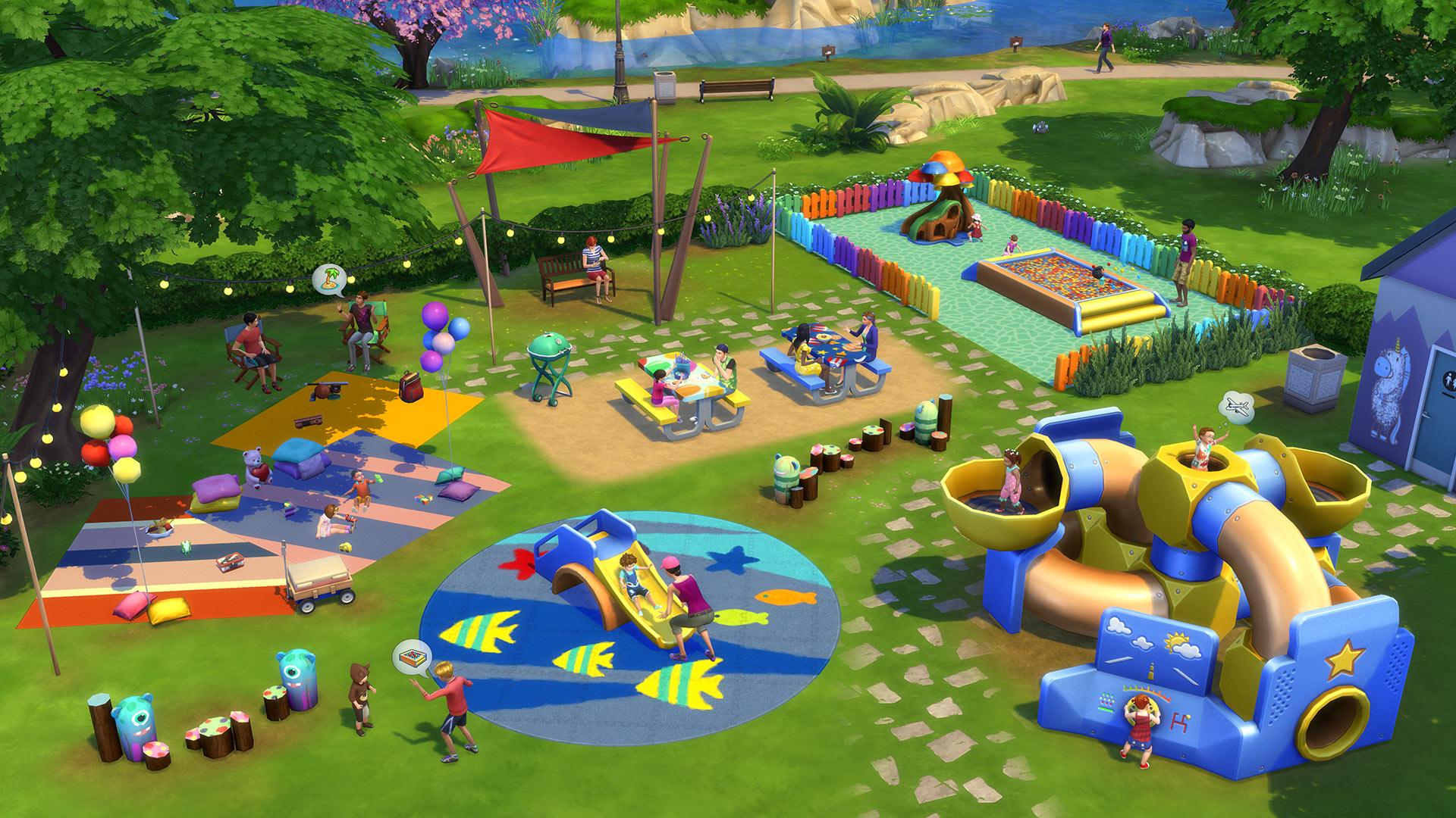 The Sims 4 Małe dzieci akcesoria zdjęcie