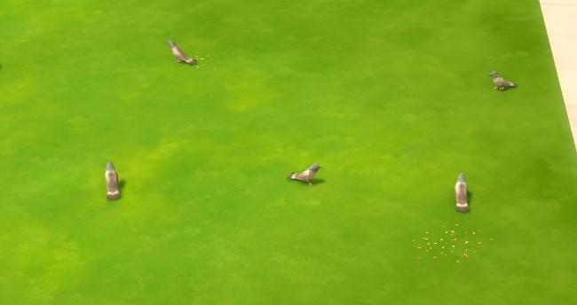 Modny Piątek The Sims 4 gołębie