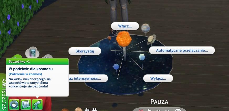 the sims 4 modny piatek planetarna makieta