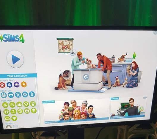 the sims 4 psy i koty artwork