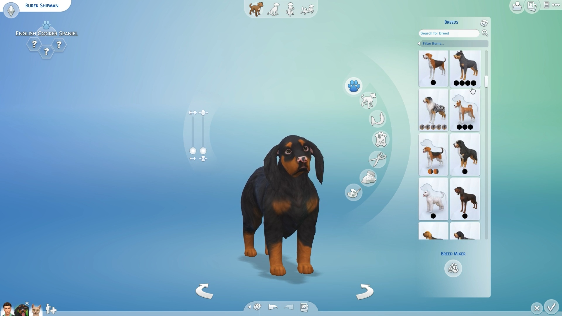 Sims Cats And Dogs List