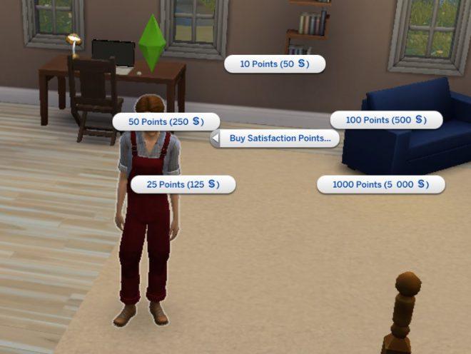Modny Piątek The Sims 4 punkty satysfakcji