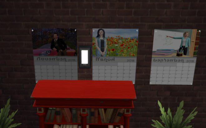 the sims 4 modny piątek kalendarz