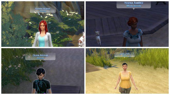 the sims 4 modny piątek angielskie imiona i nazwiska mod