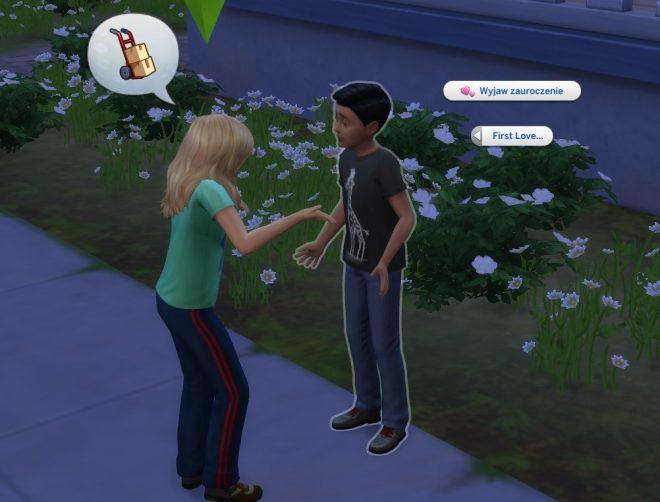 Modny piątek The Sims 4 pierwsza miłość