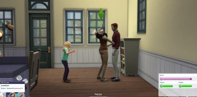 Modny piątek The Sims 4 zombie