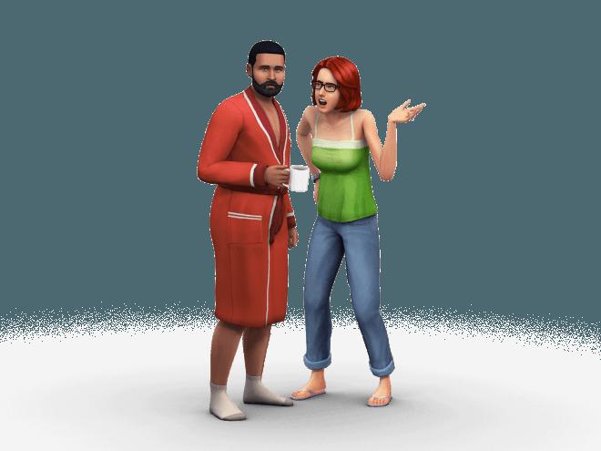 Rodzina Pancakes w The Sims 4