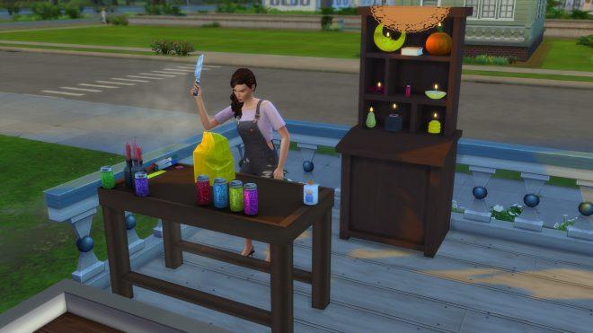 Modny piątek The Sims 4 tworzenie świec