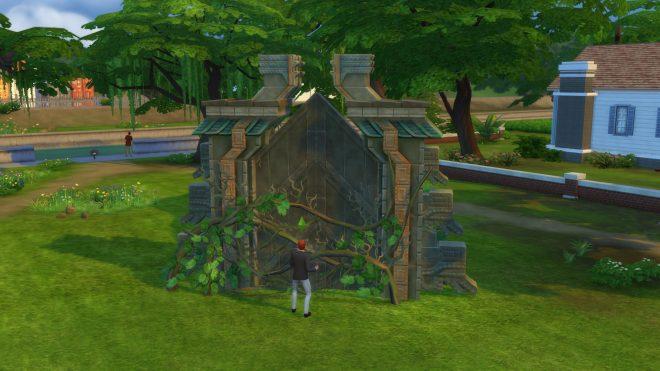 Modny piątek The Sims 4 brama