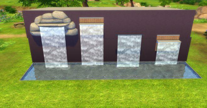 Modny piątek the sims 4 wodospady