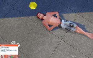 the sims 4 oparzenia słoneczne