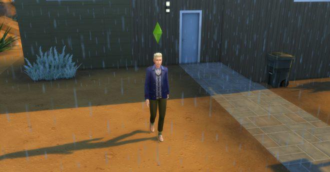 the sims 4 deszcz modny piątek