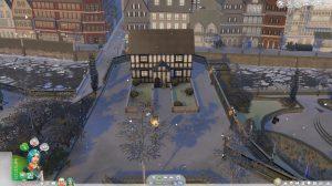 modny piątek the sims 4 bez pogody w trybie budowania