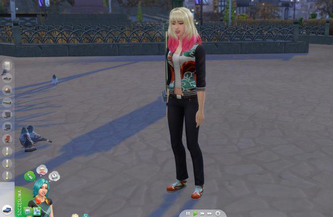 Modny Piątek The Sims 4 kolejka działań