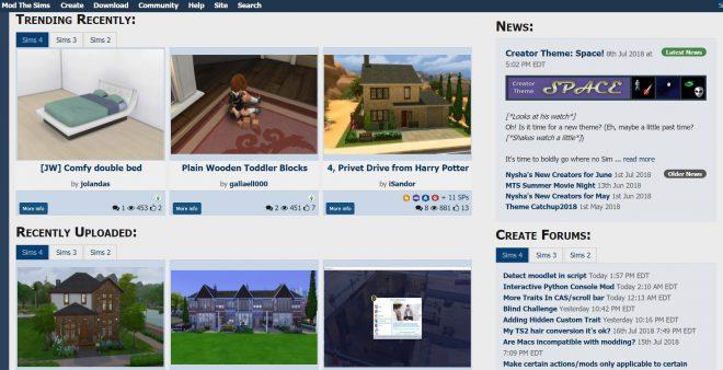 MTS mody do the Sims 4