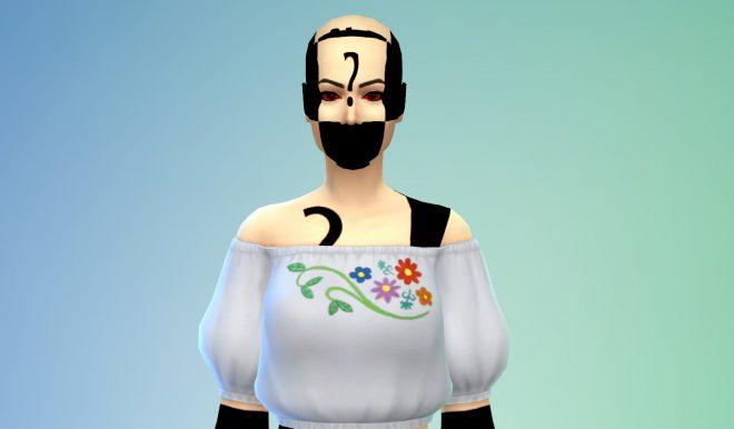 brak mesha CC mody The Sims 4