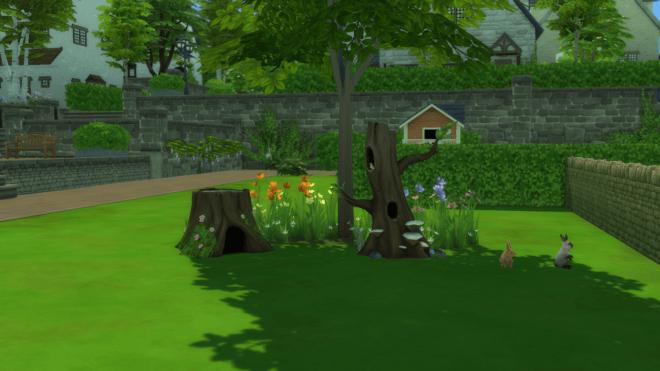 Domek dla królików i ptaków w The Sims 4 Wiejska sielanka