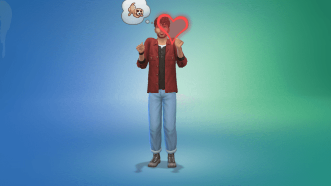 """Cecha """"Miłośnik zwierząt"""" w The Sims 4 Wiejska Sielanka"""