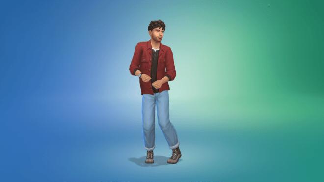 """Cecha """"Nietolerujący laktozy"""" w The Sims 4 Wiejska Sielanka"""