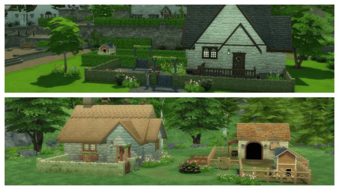 Domki w The Sims 4 Wiejska sielanka