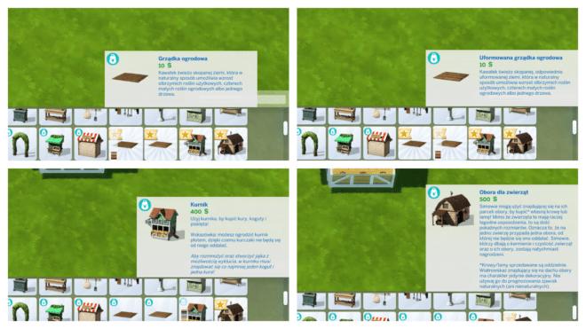 Obiekty z The Sims 4 Wiejska sielanka