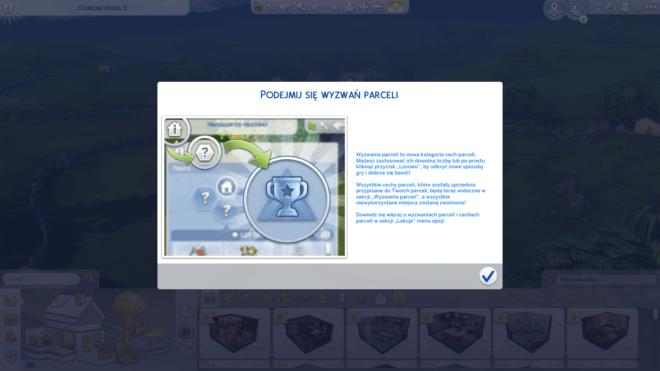 Wyzwania parceli w The Sims 4 Wiejska Sielanka