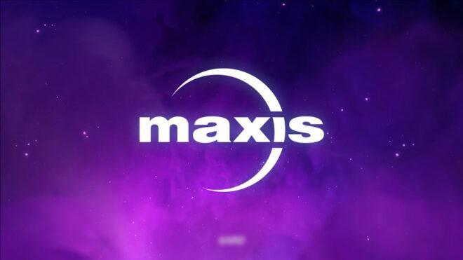 Logo Maxis nawiązujące do Lost Astral